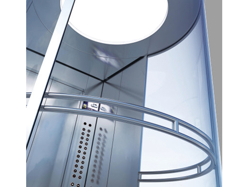 Glass Elevator for Commercial