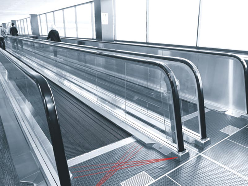 Automatic Moving Walk for Airport